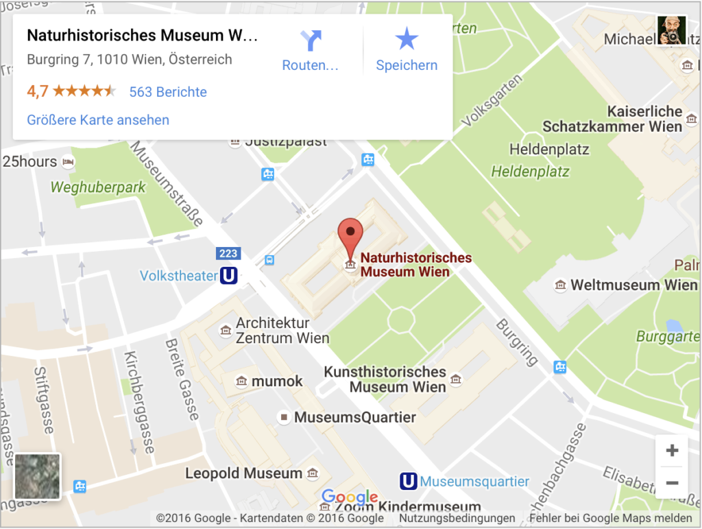 Wien Museum Karte